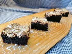 A Cozinha do Titó: Brownie de Chocolate e Amêndoa Chocolate, Desserts, Food, Cook, Gastronomia, Tailgate Desserts, Deserts, Essen, Chocolates