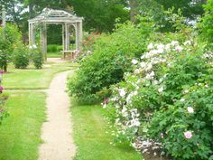 Annapolis Royal Historic Gardens in Nova Scotia show the importance of plants and gardens in the lives of a succession of settlers. Annapolis Royal, Port Royal, Canada, Nova Scotia, Past, Presents, Gardens, Outdoor Structures, Display