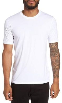 Goodlife Classic Supima Cotton Blend Crewneck T-Shirt Life Is Good, White Shorts, Crew Neck, Menswear, Nordstrom, Classic, Casual, Cotton, Mens Tops