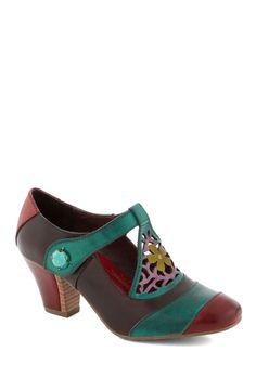 Fancy in Phoenix Heel | Mod Retro Vintage Heels | ModCloth.com