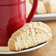 Tis the season for an Eggnog Biscotti recipe! This crispy Italian cookie not only includes eggnog IN the actual biscotti, but is also topped with an amazing eggnog glaze. Pair your homemade biscotti with a hot cup of coffee, Cookie Desserts, Cookie Recipes, Dessert Recipes, Dessert Ideas, Xmas Food, Christmas Baking, Christmas Cookies, Diy Christmas, Eggnog Biscotti Recipe