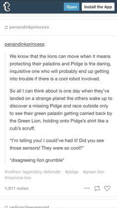 Imagino que el leon verde debe ser muy paciente