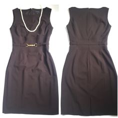 "Tahari Dress.  Timeless and Chic. Tahari.  Timeless and Chic. Waist 28"". 34"" between under arms. Hips 38"".  Very good condition. So pretty. Tahari Dresses Midi"