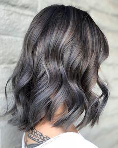 Ash Hair, Ash Blonde Hair, Brown Blonde Hair, Ombre Hair, Grey Brown Hair, Gray Hair Highlights, Balayage Ombré, Hair Color And Cut, Hair Affair
