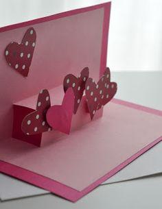 Masni Dekoráció: Borítékolt ötlet - Szívecskés kártya