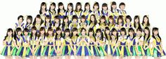 HKT48 (short for Hakata48) is a Japanese Idol Group produced by Akimoto Yasushi, and the 3rd sister group of AKB48. The group has a non-permanent theater at the Nishitetsu Hall, in Tenjin (Fukuoka Prefecture). The 1st generation members were announced on October 23, 2011, debuting on November 26, 2011. The debut single, Suki! Suki! Skip!, was released in March 2013. They are currently signed under Universal Music Japan.