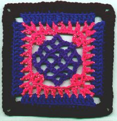 "A Square called ""Haze"" ~ free pattern"