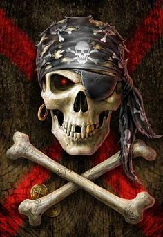 skull and cross bones-the jolly roger