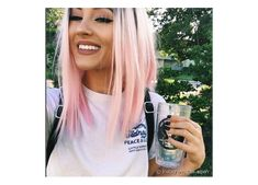 Women Pink Wigs Lace Front Hair Blue Roots Pink Hair Pink And Purple Hair Color Neon Pink Hair – cressral Beauté Blonde, Blonde With Pink, Blonde Hair With Pink Highlights, Blonde Hair Pink Ends, Blonde To Pink Ombre, Dark Ombre, Blonde Pink Balayage, Dark Roots Blonde Hair Short, Rose Blonde