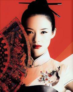 Qipao, Zhang Ziyi - 旗袍, 章子怡