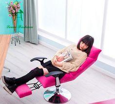 Multi couleur se trouvant de levage beauté chaise de maquillage