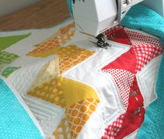 I love her blog! She has the most amazing patterns and tutorials. I just put together my own Sprocket Pillow!