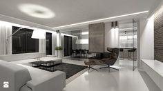 Dom jednorodzinny Częstochowa 2 2014 - Salon, styl nowoczesny - zdjęcie od galantywarsztat