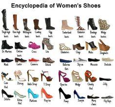 Women's Shoe Styles Defined on http://www.shoeaholicsanonymous.com/womens-shoe-styles-defined/