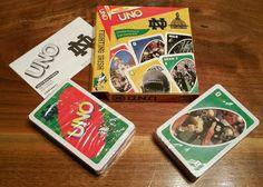 UNO Notre Dame Football Fighting Irish Card Game vintage 2005 UND - Cards Sealed #Mattel #NotreDameFightingIrish Football Fight, Notre Dame Football, Uno Card Game, Card Games, Fighting Irish, University, Seasons, Cards, Ebay