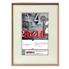 Two Copper Metal Frames - 8x10 - Threshold, Target, $19.99 each