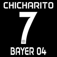 Dorsal #Chicharito Bayer 04 2016-2017 #bayer