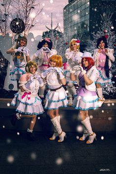Love Live - Snow Halation group
