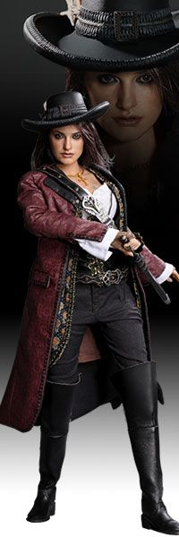 Angelica - Pirates of the Caribbean - On Stranger Tides Sixth Scale Figure