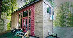 One Tiny House Enthusiast Creates Her Own Petite Palace via LittleThings.com