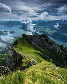 Mount Pilatus, Switzerland. Mount Pilatus is a mountain overlooking Lucerne in…