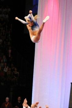 holy toe touch toss.. get it girl