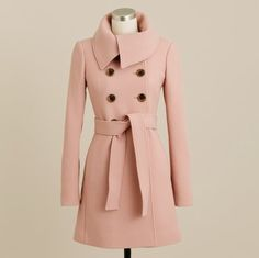 All I want for Christmas is you! J. Crew pink peacoat or any perfectly blush pink peacoat!!!