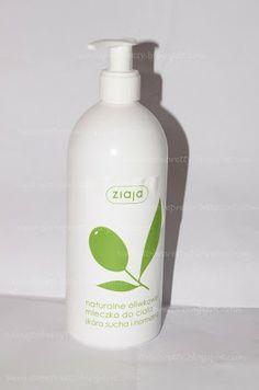 Ziaja, naturalne oliwkowe mleczko do ciała, skóra sucha i normalna. Więcej na blogu www.5waystobepretty.blogspot.com Zapraszamy :)