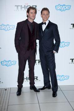 'Thor: The Dark World': Chris Hemsworth, Tom Hiddleston shine at premiere | Hero Complex – movies, comics, pop culture – Los Angeles Times