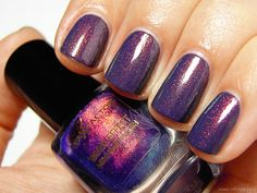 Max Factor Fantasy Fire over BYS Matte Charcoal