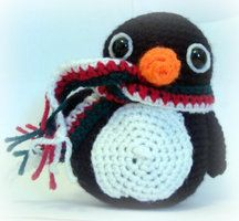 Penguin Amigurumi by EssHaych