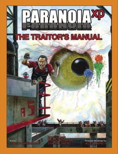PARANOIA The Traitor's Manual