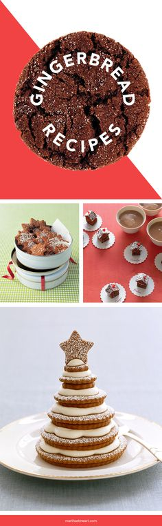 Classic gingerbread inspires an array of delicious, decorative treats that go way beyond cookies.