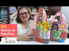 Clay Crafts, Home Crafts, Fashion Bags, Straw Bag, Patches, Make It Yourself, Quilts, Sewing, Youtube