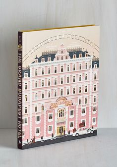 The Wes Anderson Collection: The Grand Budapest Hotel. Admired by pastry chefs, lobby attendants, and film-lovers alike, this Wes Anderson book is utterly delightful! The Beautiful And Damned, Beautiful Book Covers, Pantone 2016, Wes Anderson Book, Book Cover Design, Book Design, The Wes Anderson Collection, Vintage Books, Retro Vintage