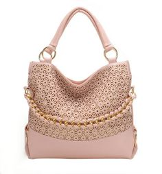Hollow Out Sequined Shoulder Bag Handbag-just bought this in yellow and I lovvvvve it!