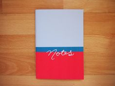 A5 Simple Colour Block Notebooks // Lined Paper // Four styles available