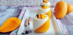 In questo video vi mostriamo come preparare, passo dopo passo, una splendida e deliziosa panna cotta al mango, elegante da vedere e buonissima da gustare; il dessert perfetto per combattere il caldo estivo.  Fonte: https://www.youtube.com/channel/UCWHRi7jdVVraF9eYSRmFDkA