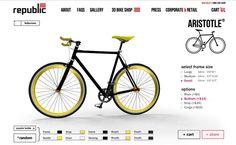 Aristotle de Republic Bike, build your fixie/singlespeed Shop Press, Bicycle, Fixed Gear, Urban Bike, Mtb Bike, Bike, Bicycle Kick, Bicycles