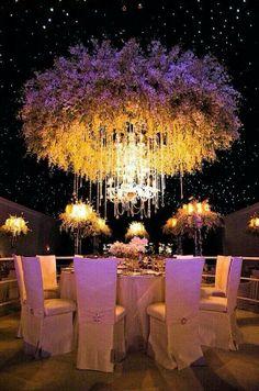 Floral lighting