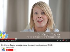 Dr. Keryn Taylor describes the emotions felt after being diagnosed with Multiple Sclerosis