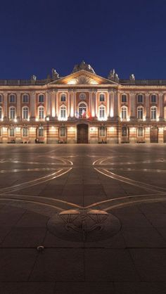 La Place du Capitole, Toulouse, France