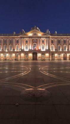 The Place du Capitole, Toulouse, France