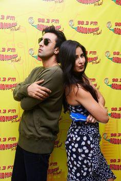Katrina Kaif and Ranbir Kapoor promotes Jagga Jasoos on Radio Mirchi