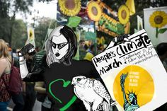 Venette Waste at the Peoples Climate March in New York