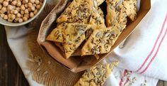 Crackers aux graines à la farine de pois-chiches {sans gluten}   Emilie and Lea's Secrets