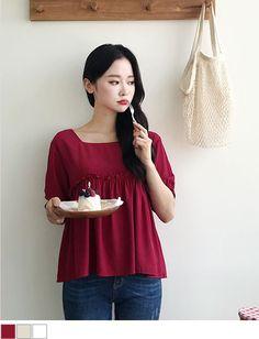 Blouses & Shirts Adroit 2019 Women Tops And Blouse Womens Korean Style V Neck Blouse Shirt Fashion Clothing Short Sleeve Female Clothes Stylish Ladies Fine Workmanship