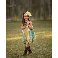 Flower Power Created to match Matilda by CookieandMaxBoutique ($50) via Polyvore