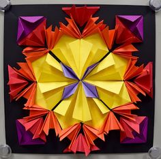 Art with Mrs. Nguyen (Gram): Radial Paper Relief Sculptures (5th): Part 500000