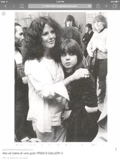 Sweet Mama Anni  Frid and beautiful daughter Lise Lotte